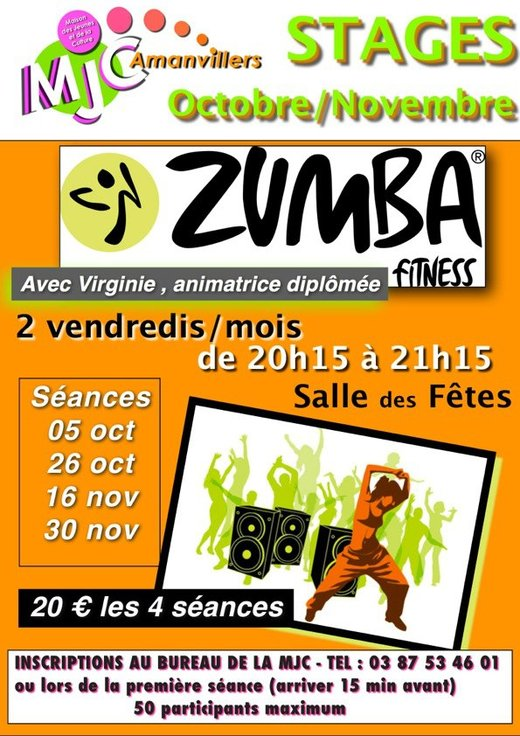 Stage Zumba / Fitness